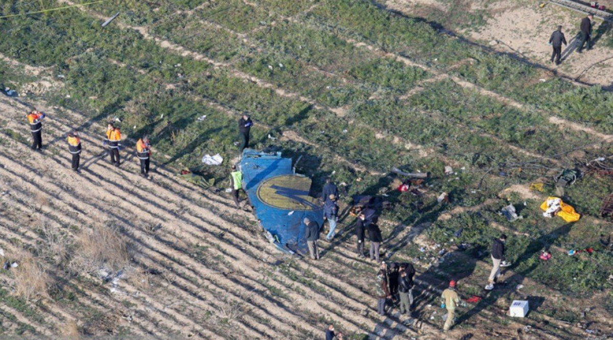 Six suspects detained in UIA plane crash in Iran