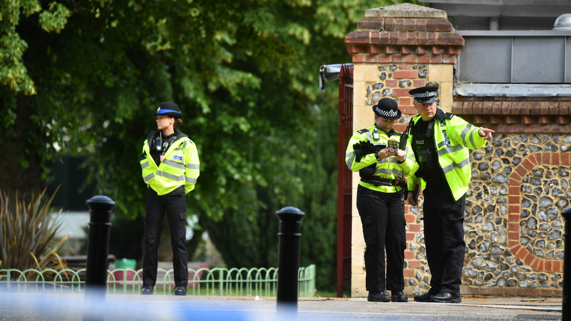 Police called the attack in Reading a terrorist attack