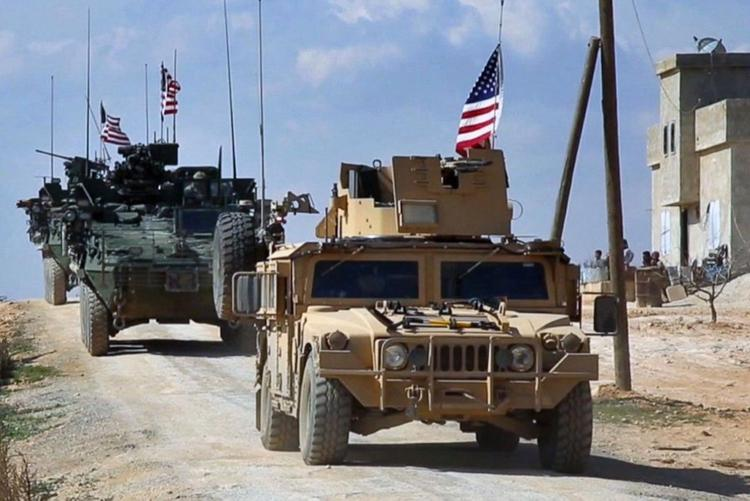 Civilians in Syria demand that the US and Turkey withdraw troops from the country