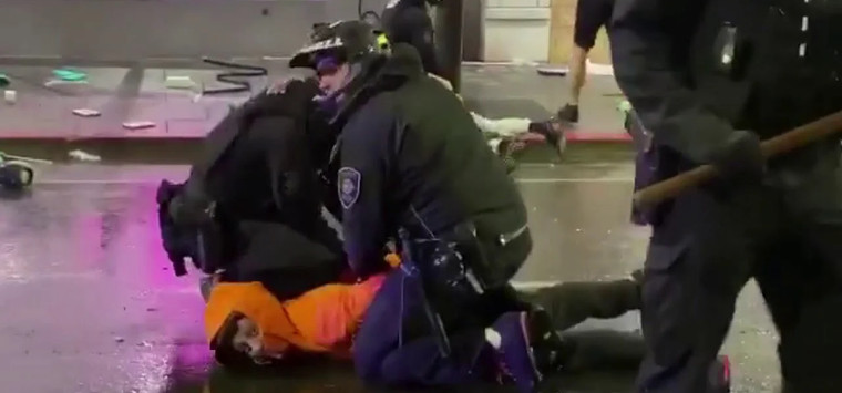In nine US cities, protests turned into murders