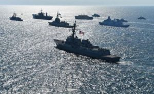 NATO begins naval exercises near the Russian border in the Baltic