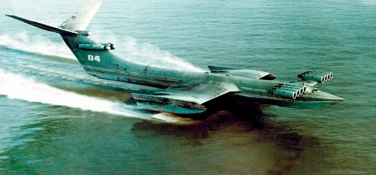A sudden nightmare for any fleet: Why the US was afraid of Soviet ekranoplanes