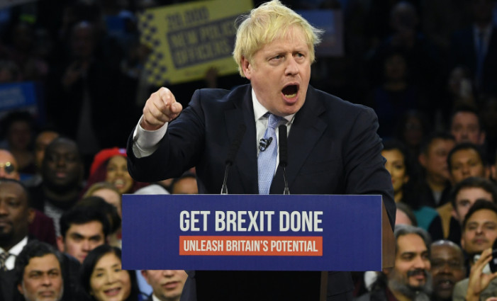 Boris Johnson returns to Brexit to get excited