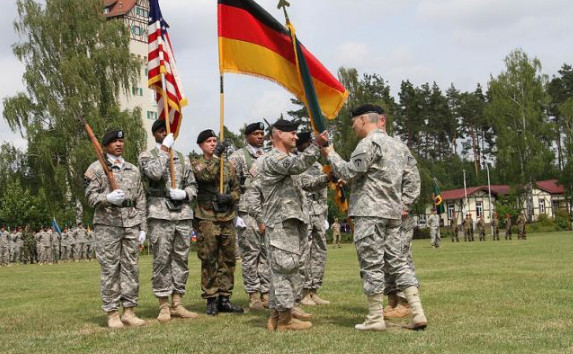 """Talks about Germany's """"security"""" are needed only to justify US hegemony"""