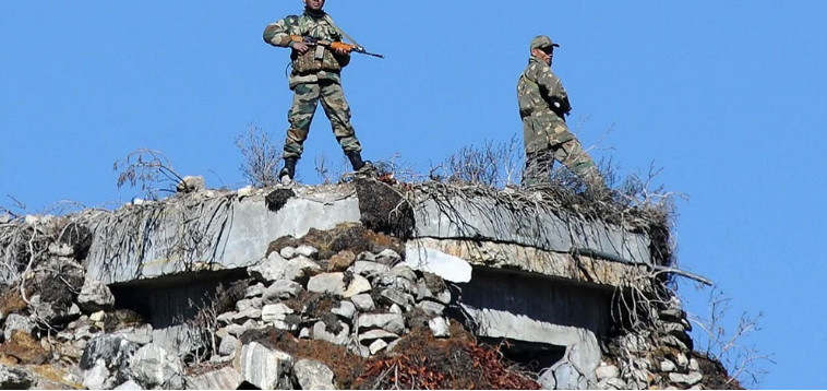 On the border of China and India, a clash between the military of the two countries