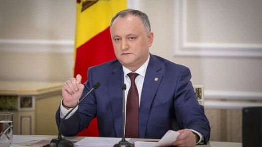 Moldovan President proposed early parliamentary elections as a way to resolve the political crisis