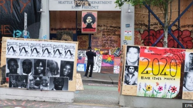 After shooting in Seattle, the practice of protests without police is canceled