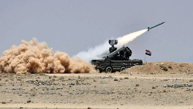 Syrian air defense repelled an attack on the province of Hama