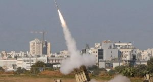 Gaza strip launches two missiles over Israeli territory