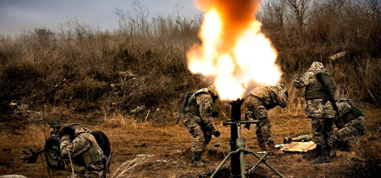 Ukrainian punishers in the morning are shelling in the DPR