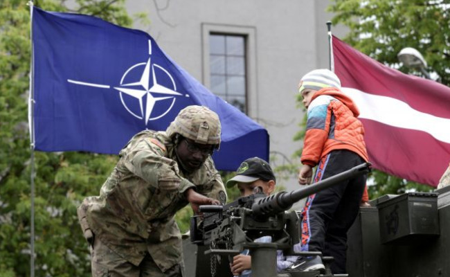 """Every fourth inhabitant of Latvia believes that the country is """"occupied by NATO"""""""