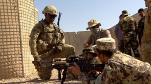 The US is trying to shift responsible for the war in Afghanistan to Russia