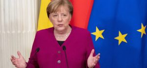 Looking at the riots in the US, Merkel called for a rethinking of Europe's role in the world