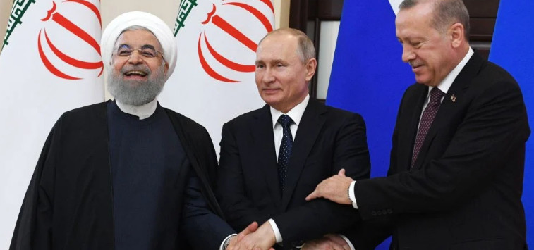 Putin, Erdogan and Rouhani will discuss the Syrian issue