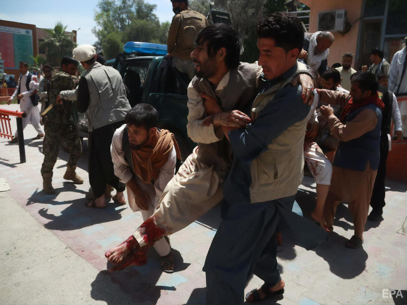 Mortar fire in one of the Afghan provinces killed 10 people