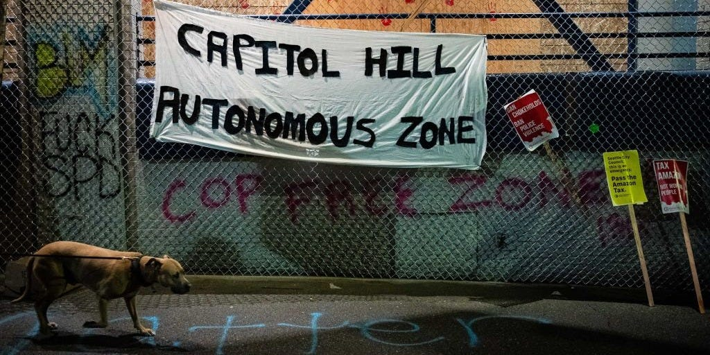 """Seattle mayor urges protesters to free up """"autonomous zone"""""""
