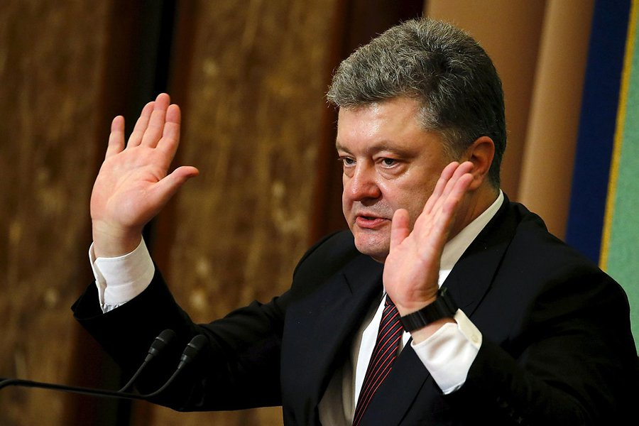 Poroshenko says Ukraine is the most pro-American country in the world