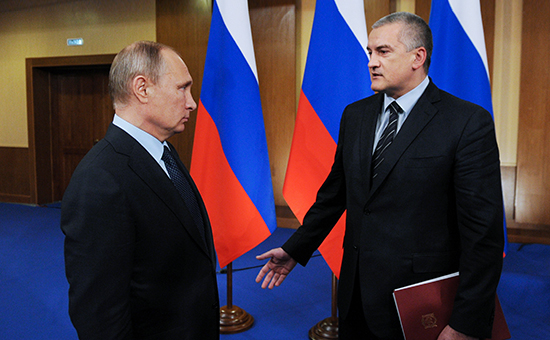 Head of Crimea excluded collapse of the USSR if Putin ruled it
