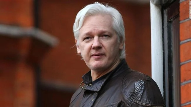 The United States accused Assange of conspiring with Anonymous hackers