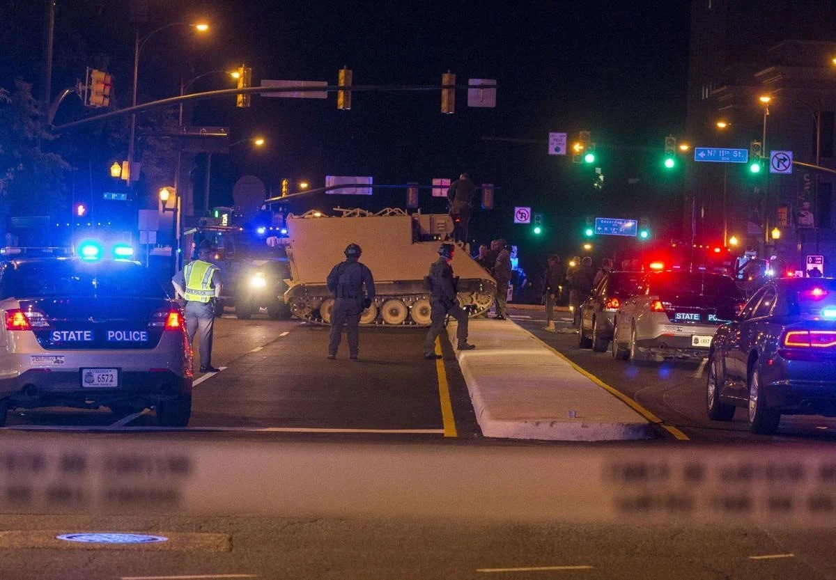 Program 1033 and combat experience - how did the United States become a police state?