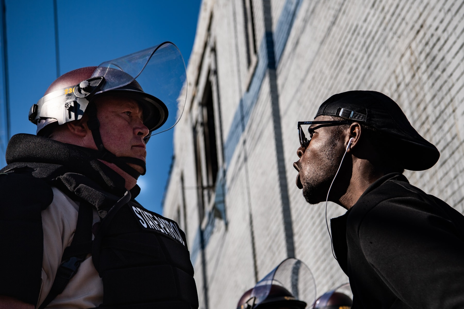 Results of study on police racism was presented in the US