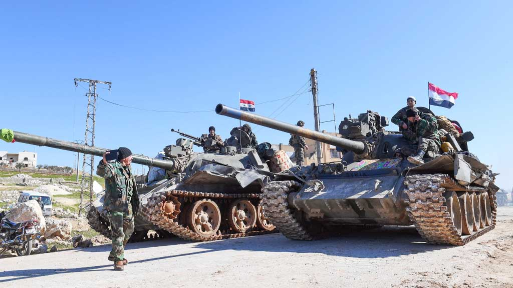 Media: the Syrian army has regained control of two villages in northern Hama province
