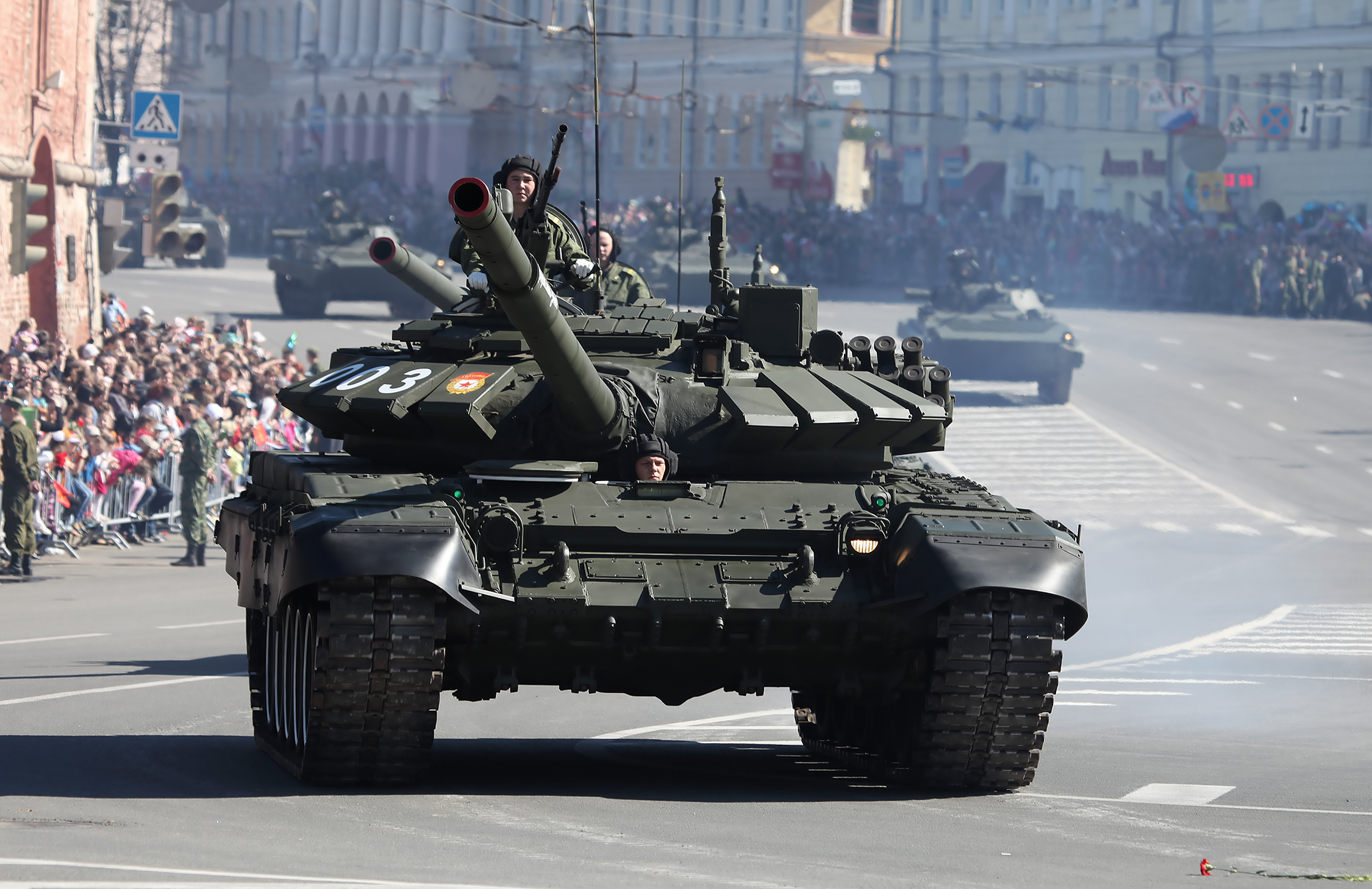 "China assessed the latest ""deadly machines"" of the Russian Federation at the Victory Parade"