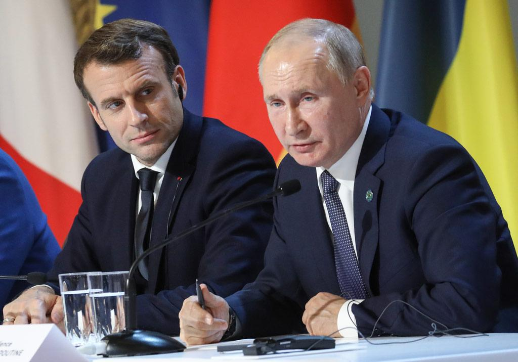 Putin and Macron will discuss security on June 26