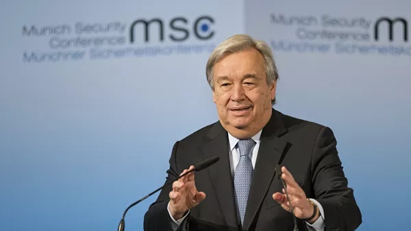The UN Secretary General called on Israel and Palestine to engage in dialogue