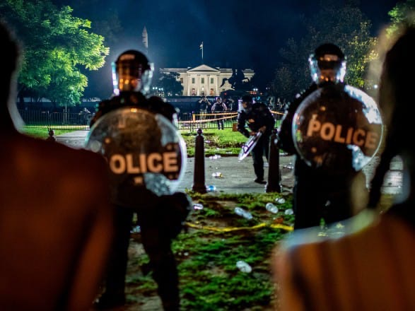 Curfew imposed in Washington and 40 other US cities, Trump spent time in a bunker