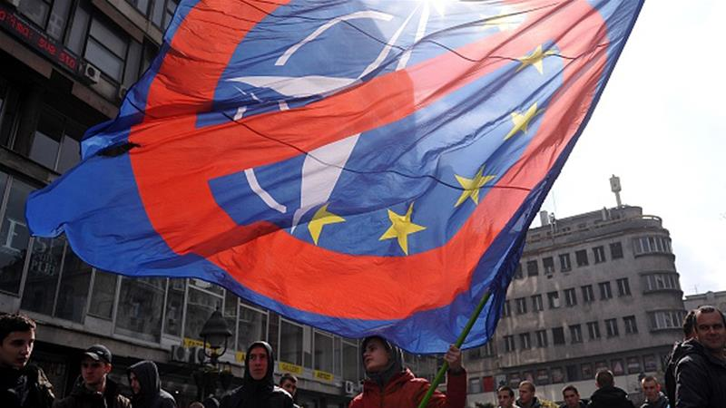 """Serbia officially voiced two """"never"""" objectionable to the West"""