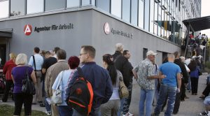 Unemployment in Germany is growing