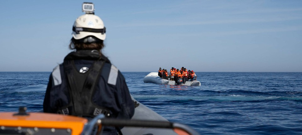 The Sea-Watch 3 saved almost a hundred migrants
