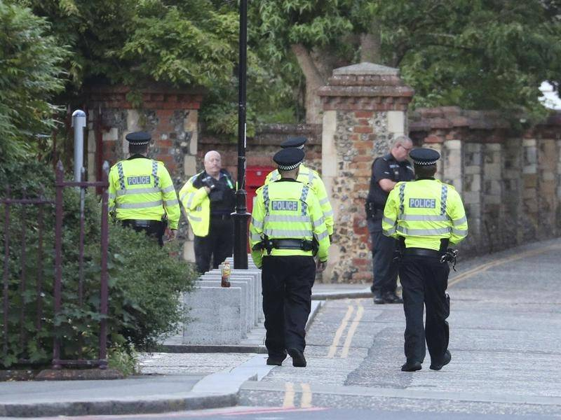Police reports three casualties in stabbing spree in British town's park