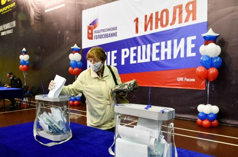 Constitutional amendments vote begins in all regions of Russia's Far East
