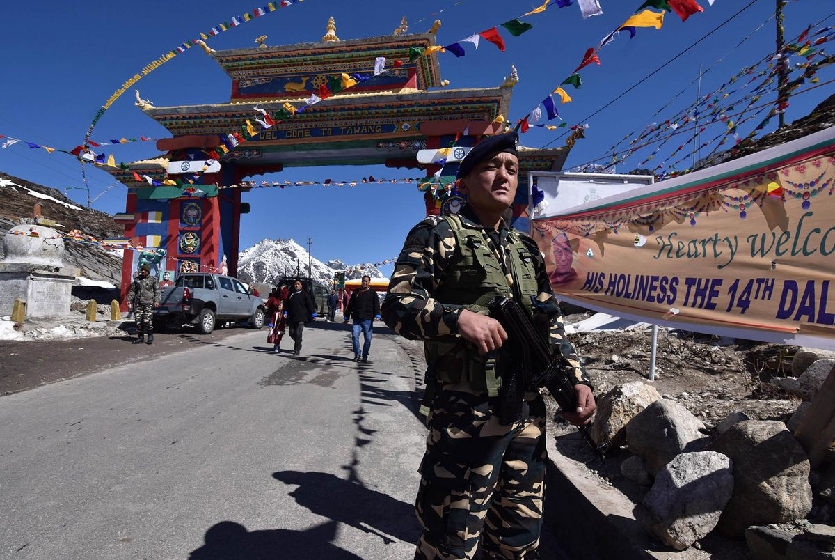 India said it would seek peace on the border with China and defend its sovereignty