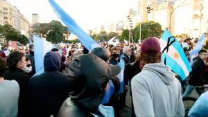 On Argentina's Independence Day, the country protested against quarantine
