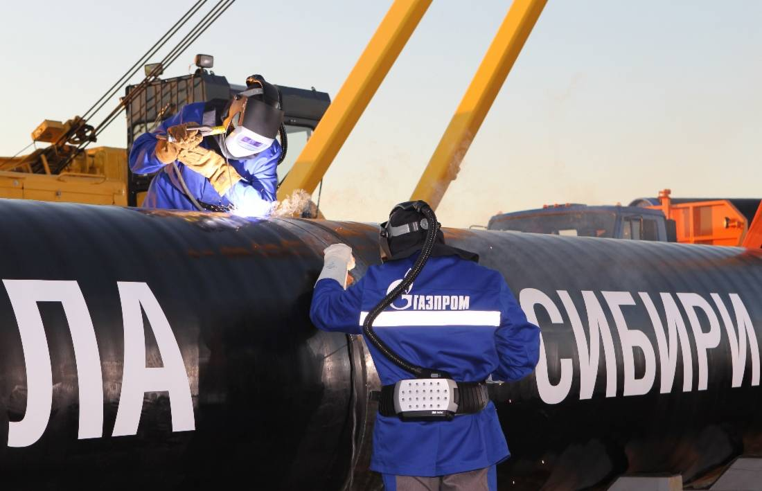"""Russian gas from """"Power of Siberia -2"""" displaced Canadian from China"""