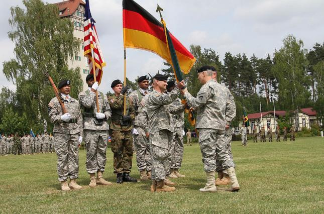 Trump supported the withdrawal of troops from Germany: 9.5 thousand troops will leave the country
