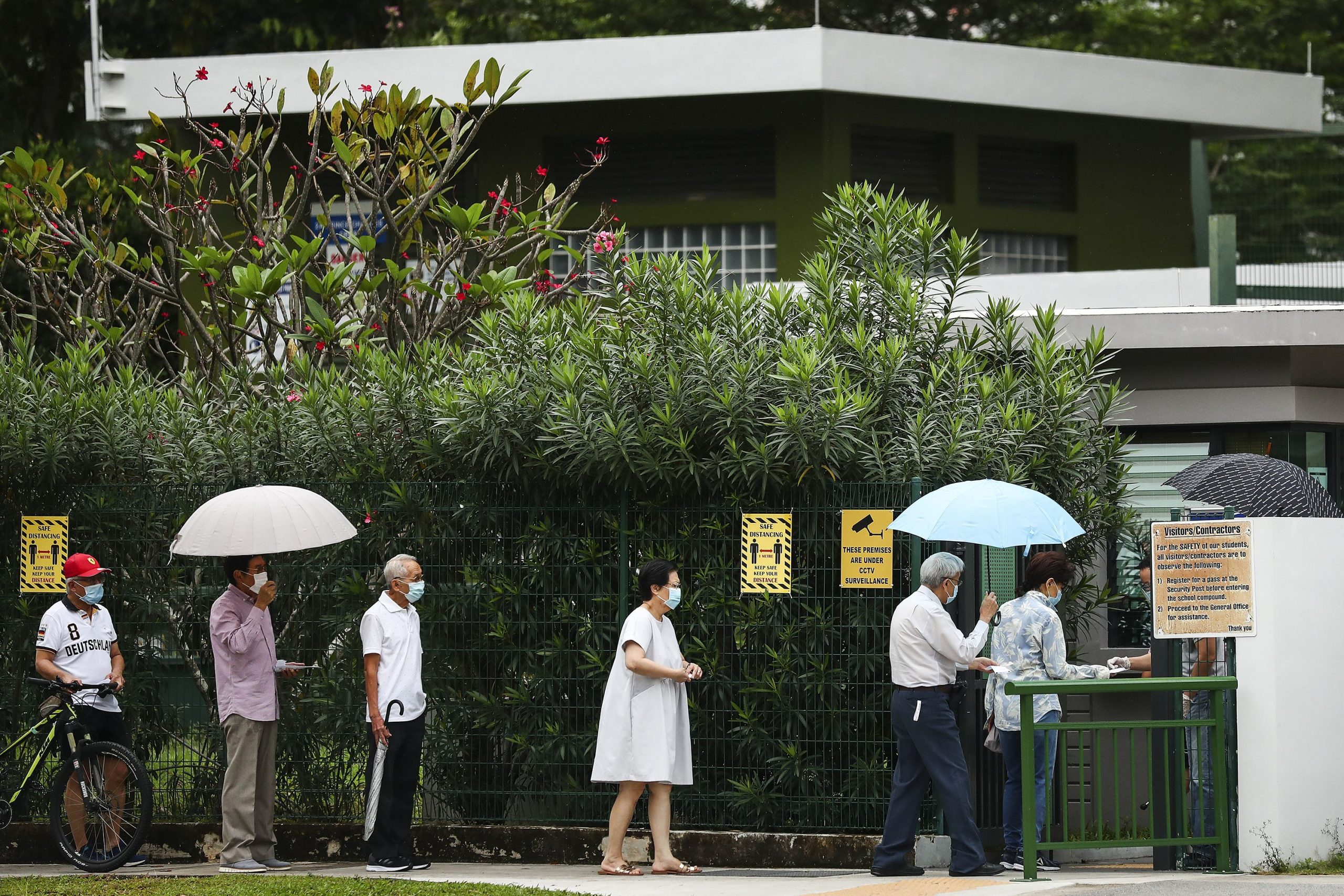 General parliamentary elections have begun in Singapore
