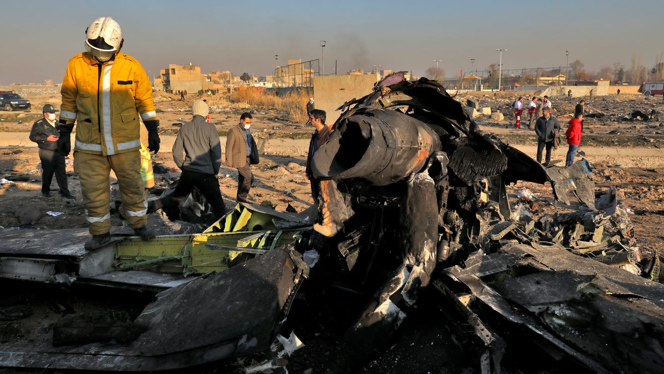 Air crash in Tehran: Iran will pay compensation to the families of the victims