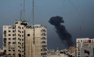Israeli military records launch of two rockets from Gaza