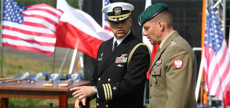 """In Poland, revealed US plans for a """"new Europe"""" without Germany"""