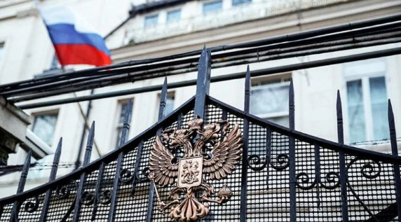 Russian representation in Britain disagrees with sanctions