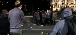 The storming of the Serbian parliament was planned by foreign structures