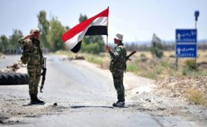 Syrian military did not let American soldiers go to the north of Hasaka province