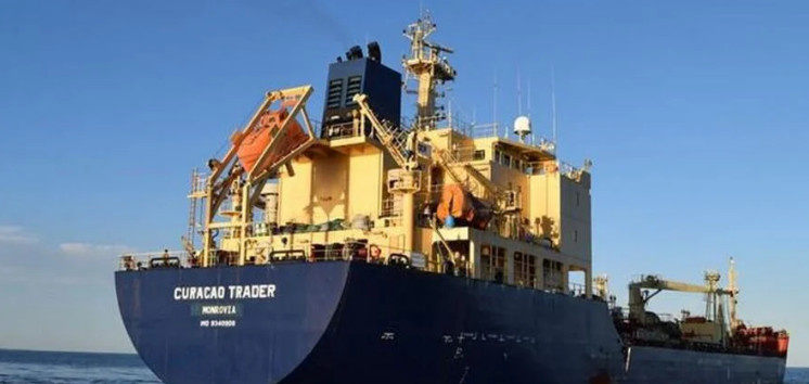 Pirates seized 13 crew members from Russia and Ukraine from the Curacao Trader tanker