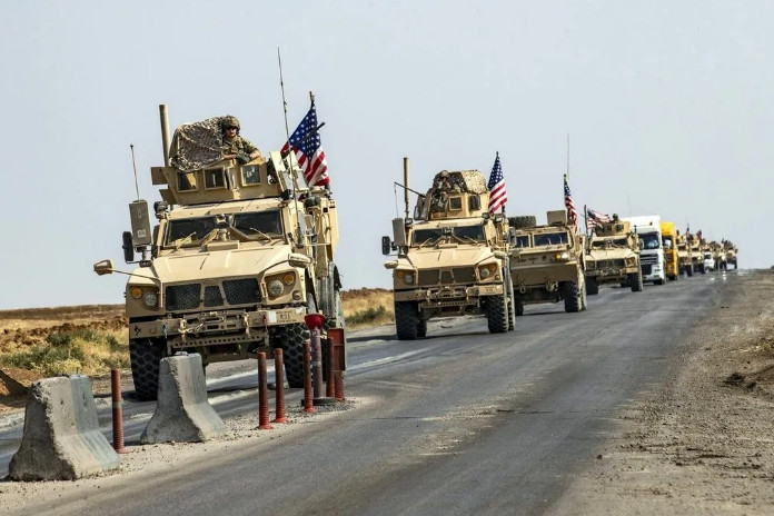 The confrontation between Russian and American patrols on the roads of Syria reached a new level