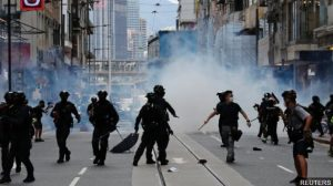 China warns UK of 'fallout' from Hong Kong 'intervention'