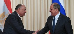 Lavrov discussed with Egyptian Foreign Minister the situation in Libya